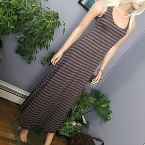 Dresses - IMPORTED Striped Maxi Dress